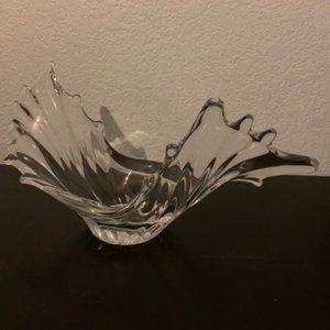 MCM Cofrac Art Verrier French Crystal Bowl
